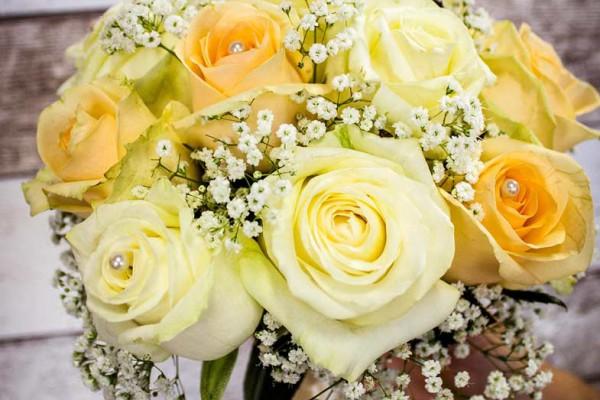bukiet z róż wesele