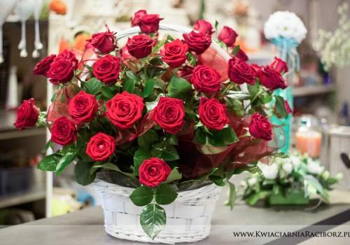 bukiet róż racibórz