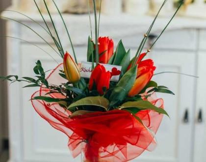 bukiet tulipany racibórz