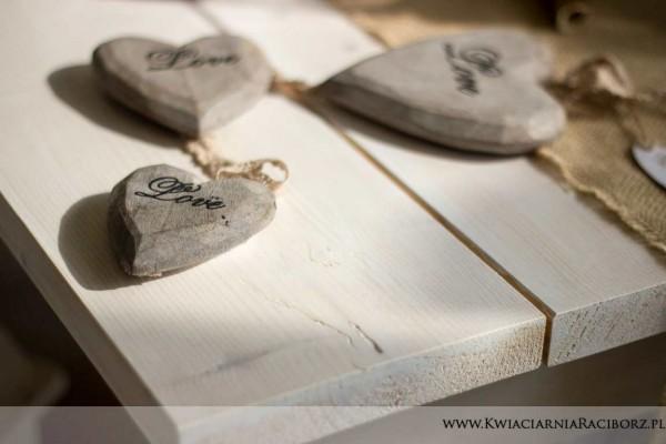 love drewniane