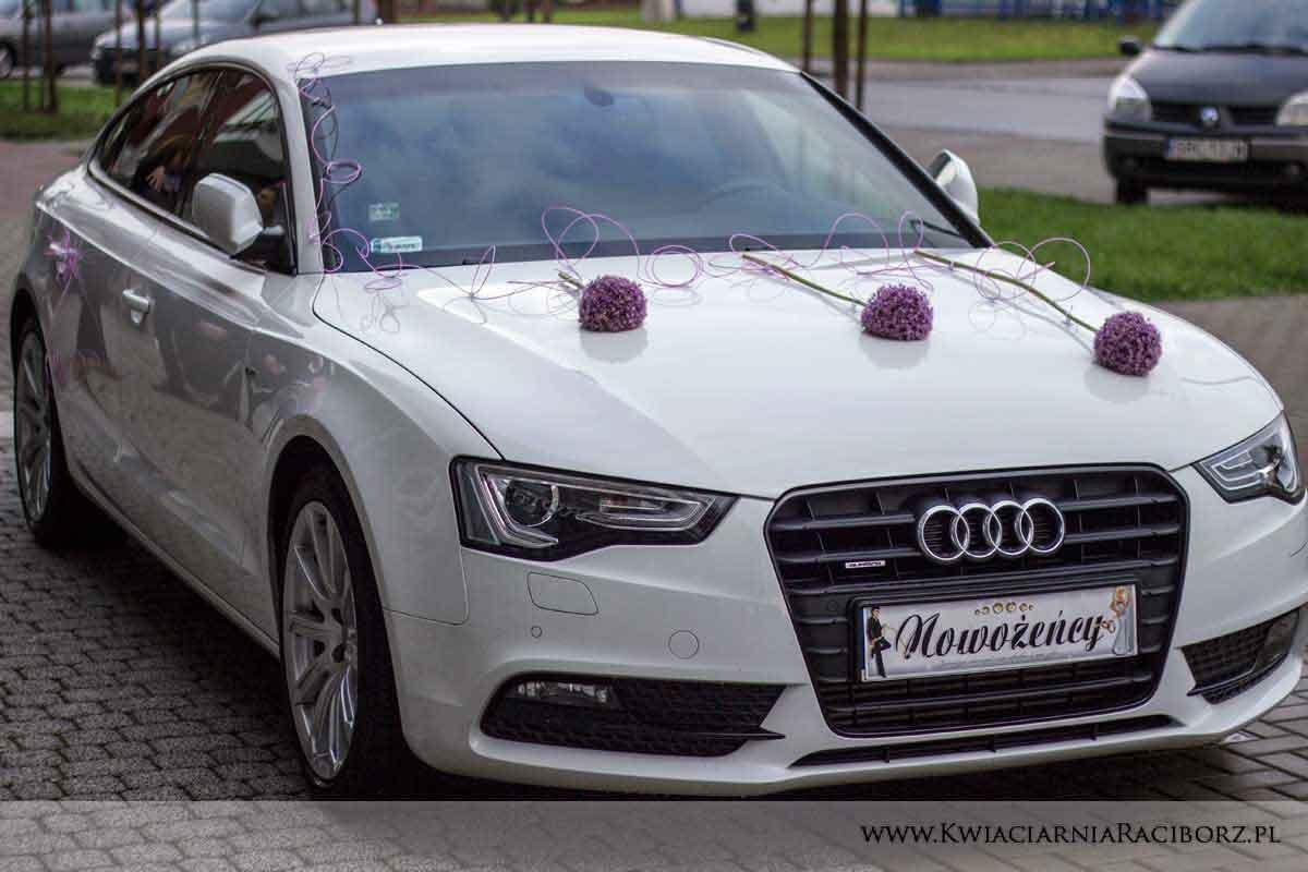 strojenie samochodu racibórz ślub wesele