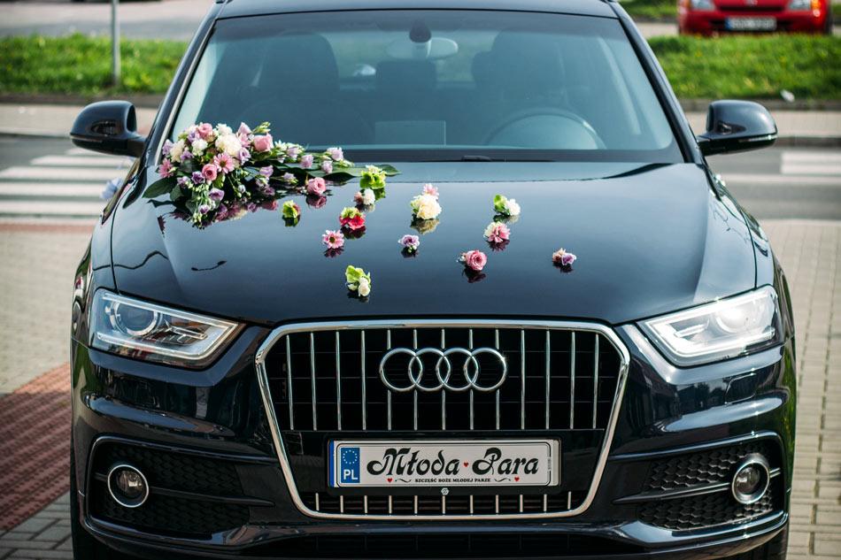 strojenie samochodu racibórz wesele ślub
