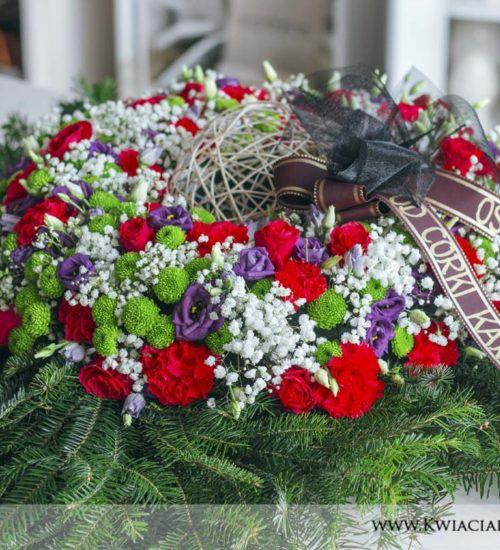 wieniec pogrzeb
