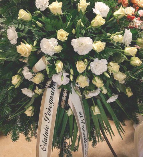 wieniec pogrzebowy raciborz