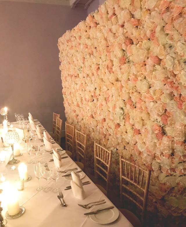 ślubne Dodatki ścianka Kwiatowa Krzesła Dywany I Dekoracje